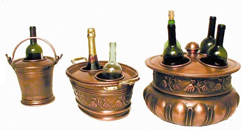 Secchiello portaghiaccio 2 fori for Secchiello portaghiaccio