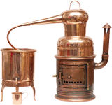 Ornamental alembic 5 liter