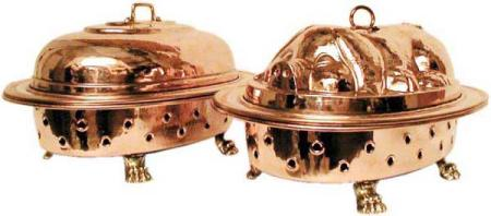 Covered dish and food warmer